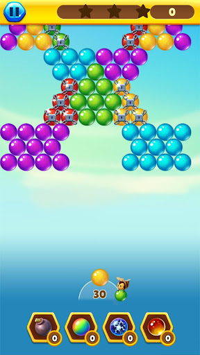 Bubble Bee Pop - Colorful Bubble Shooter Games android2mod screenshots 3