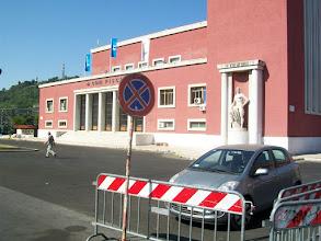 Photo: 35e dag, woensdag 19 augustus 2009 Prima Porta Rome Temp. max.: 38 graden, Wind: - Bft. Windrichting: -. Weerbeeld: zon, warm. Dagafstand 45 Totaal gereden 2293 km Olympischstadion Rome.