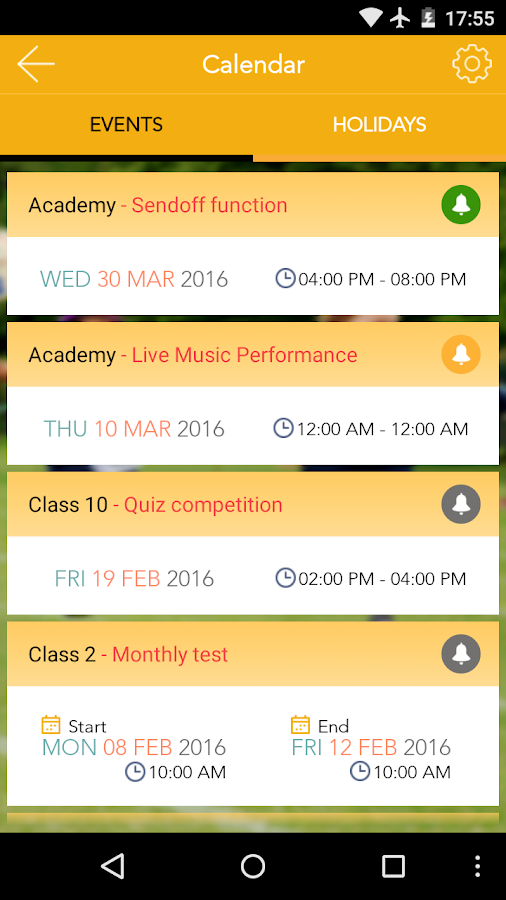 SkoolBeep - School Parent App- screenshot