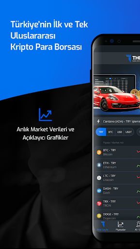 Thodex – Global Kripto Para Alım Satımı screenshot 1