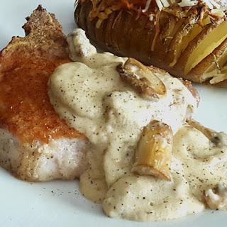 Swedish Pork Chops with Mushroom Gravy