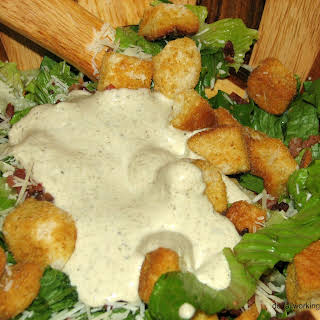 The Best and Easiest Homemade Caesar Dressing.