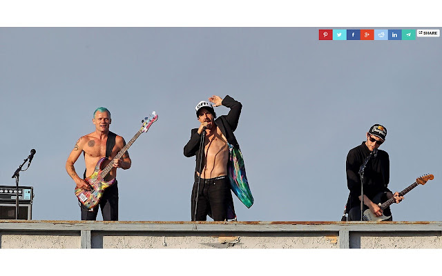 Red Hot Chili Peppers Tab
