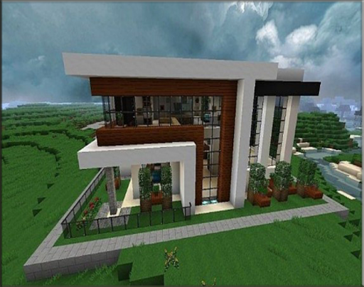 The idea of a modern home for minecraft 1.0 screenshots 6