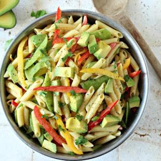 Colorful Pasta Salad (Vegan & Gluten Free)
