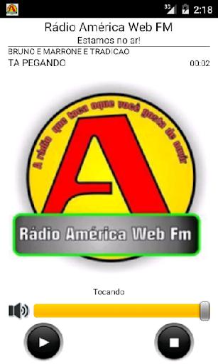 Rádio América Web FM