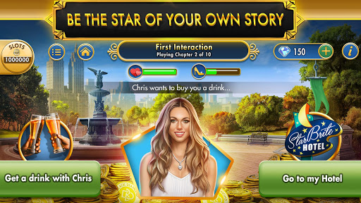 Black Diamond Casino Stories & Slots screenshot 1