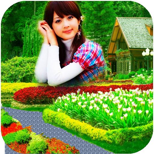 Garden photo frames new 攝影 App LOGO-硬是要APP