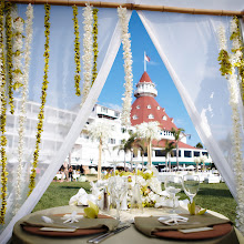 Photo: A reception or rehearsal dinner on the beachfront Windsor Lawn.