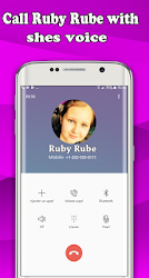 Download Fake Call Ruby Rube For Free 2018 for android | Seedroid