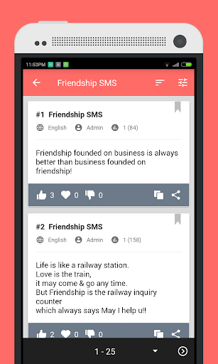 100000+ SMS Messages by Mobizerg (Google Play, United States