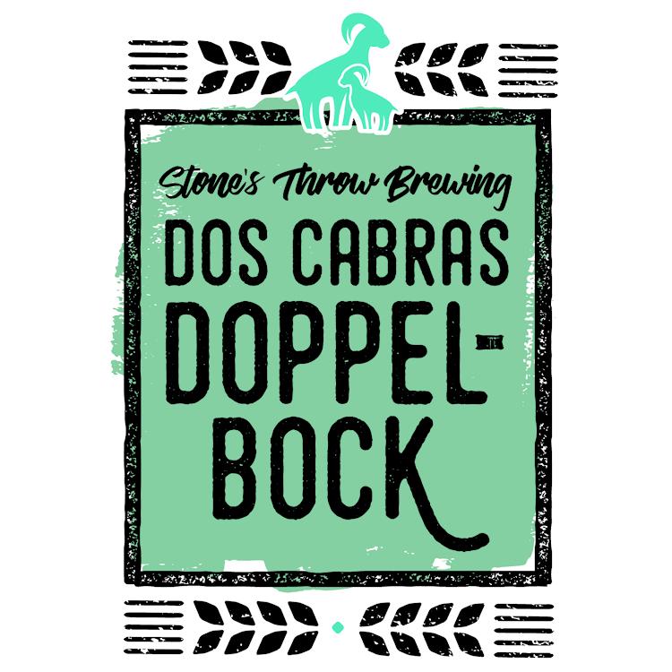 Logo of Stone's Throw Dos Cabras Doppelbock