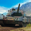 Tank Force: army war games pvp icon