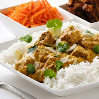 Lamb In Creamy Curry Sauce.