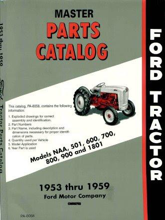 Ford naa tractor manual set cd models 600 800 2600 16 manuals ebay bonus fandeluxe Choice Image