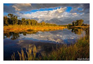 Photo: Reflections on the Snake, Grand Teton National Park, Wyoming