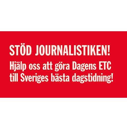 Stöd journalistiken!