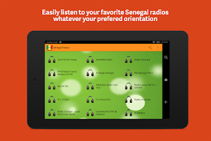 Screenshot of Senegal Radios