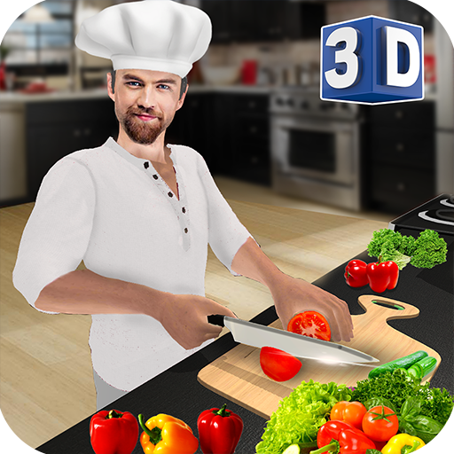 Baixar Virtual Chef Cooking Game 3D: Super Chef Kitchen para Android
