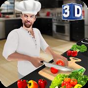طاه الظاهري لعبة الطبخ 3D: مطبخ طاه السوبر