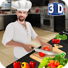 Juego de cocina virtual chef 3D: cocina súper chef icon