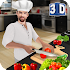 Virtual Chef Cooking Game 3D: Super Chef Kitchen