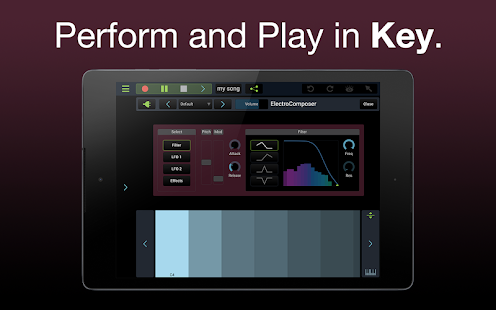 Stagelight: Audio and MIDI DAW- screenshot thumbnail