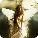 Angel Live Wallpaper Magic icon
