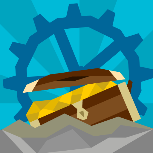 Underwater Treasures: Cogwheels and Submarines Icon