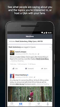 Facebook Mentions 4.4.1 screenshot 570552