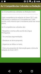 Temas Redação - ENEM 2017 - náhled