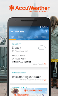 AccuWeather Screenshot 1
