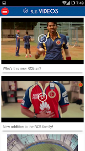 Official RCB App- screenshot thumbnail
