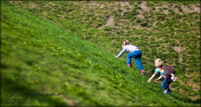 Photo: the climb