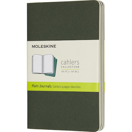 Cahier Journal Pocket Green