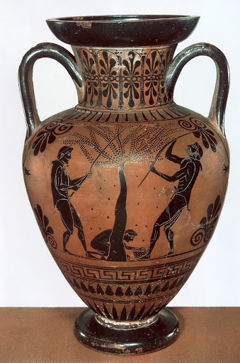 Attic neck amphora