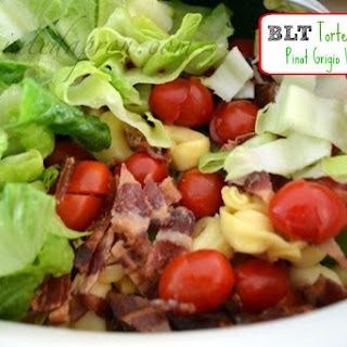 Take-out Tuesday, BLT Tortellini Salad with Pinot Grigio Vinaigrette