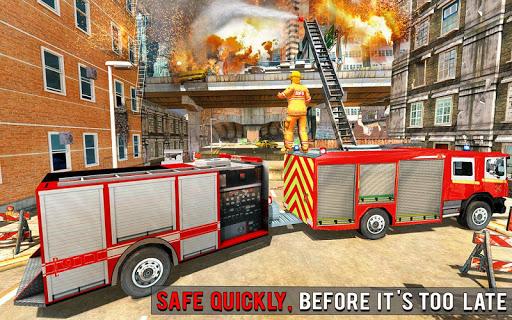 Fire Engine Truck Driving : Emergency Response 1.0.1 screenshots 14