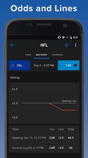 theScore: Live Sports Scores, News, Stats & Videos 6.24.1 screenshots 6