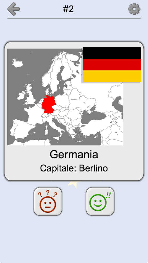 Paesi europei - Le mappe, bandiere e capitali - App Android su Google Play