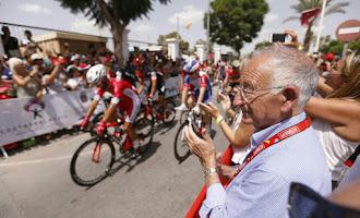 La Vuelta se despide de Almería