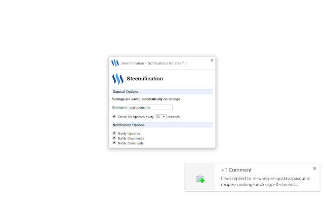 Steemification - Notifications for Steemit