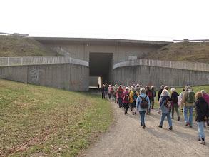 Photo: Unter dem Elbeseitenkanal hindurch