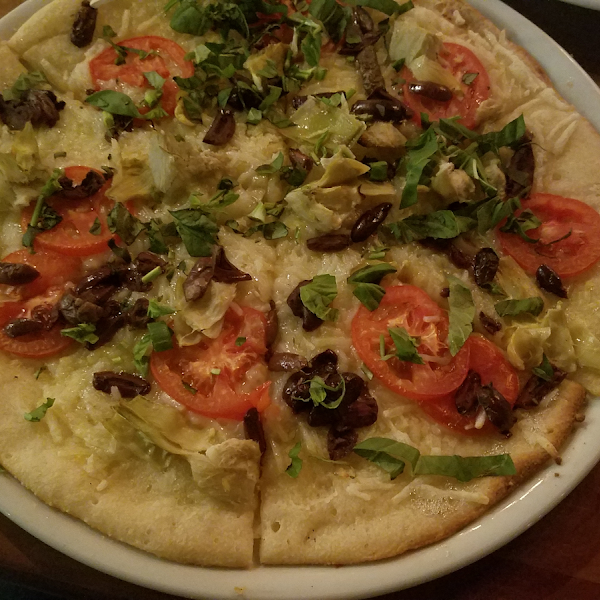 Gluten and dairy free pizza!