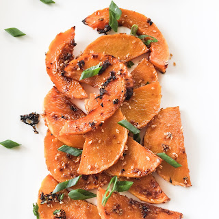 Roasted Butternut Squash with Gochujang Sauce