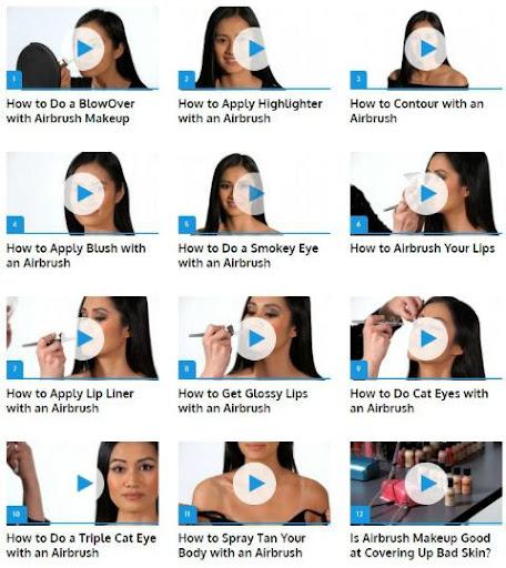玩免費遊戲APP 下載Airbrush Makeup app不用錢 硬是要APP