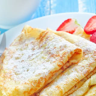 Simple French Crepes.