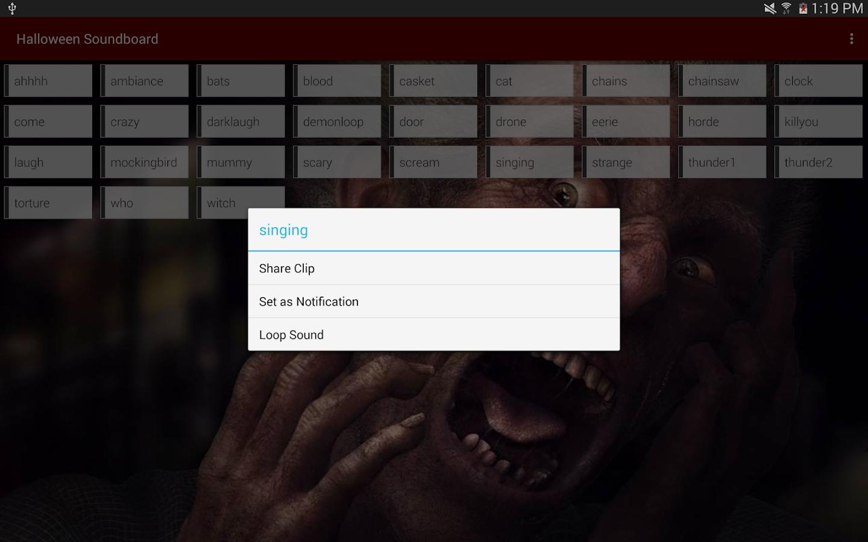 Halloween Soundboard- screenshot