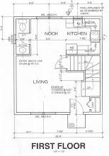 Photo: 1st floor blueprint