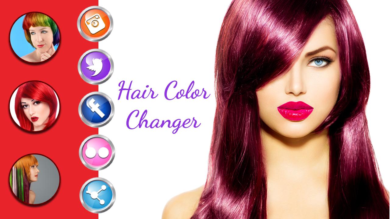 Hair Color Changer- screenshot
